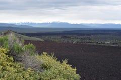 Vista aérea da parte superior do cone do inferno Fotos de Stock Royalty Free