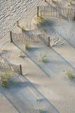 Vista aérea da praia imagens de stock