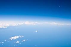 Vista aérea da terra Imagens de Stock