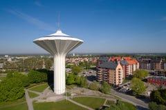 Vista aérea da torre de água Svampen Foto de Stock