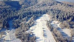 Vista aérea das montanhas vídeos de arquivo