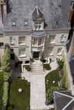 Vista aérea de Amboise Fotos de archivo