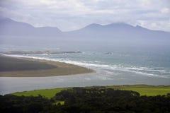 Vista aérea de Anglesey fotografia de stock