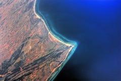Vista aérea de Bahrein Foto de archivo