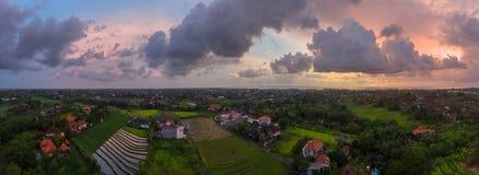 Vista aérea de Bali Imágenes de archivo libres de regalías