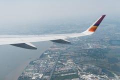 Vista aérea de Banguecoque Fotografia de Stock