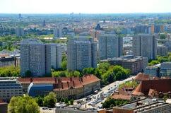 Vista aérea de Berlim, Alemanha Foto de Stock