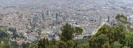 Vista aérea de Bogotá, Colombia Fotos de archivo