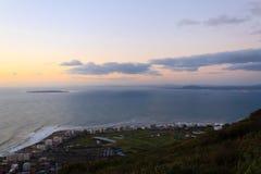 Vista aérea de Cape Town de la colina de la señal, Suráfrica Foto de archivo