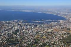 Vista aérea de Ciudad del Cabo Imagenes de archivo
