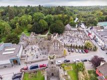 Vista aérea de Cong foto de stock