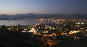 Vista aérea de Fethiye fotografía de archivo libre de regalías