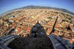 Vista aérea de Florença, Italy Fotos de Stock Royalty Free
