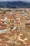 Vista aérea de Florença, Italy Fotografia de Stock