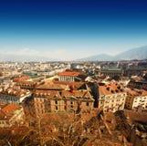 Vista aérea de Genebra Fotografia de Stock Royalty Free