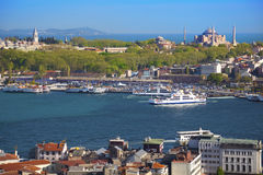 Vista aérea de Istambul Foto de Stock