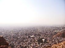 Vista aérea de Jaipur imagen de archivo libre de regalías