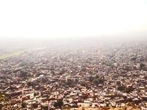 Vista aérea de Jaipur foto de archivo