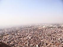 Vista aérea de Jaipur imagens de stock