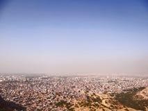 Vista aérea de Jaipur foto de archivo libre de regalías