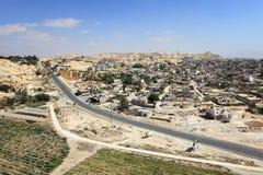 Vista aérea de Jericó fotografía de archivo libre de regalías