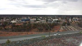 Vista aérea de Kalgoorlie Imágenes de archivo libres de regalías