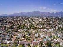 Vista aérea de la Arcadia foto de archivo
