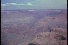 Vista aérea de la barranca magnífica almacen de video
