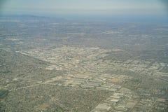 Vista aérea de la Buena Park, Cerritos imagen de archivo