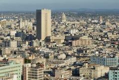 Vista aérea de la ciudad de La Habana en La Habana, Cuba Fotos de archivo