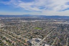 Vista aérea de la ciudad del templo, área de la Arcadia fotografía de archivo