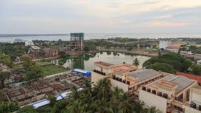 Vista aérea de la ciudad de Jaffna - Sri Lanka fotos de archivo
