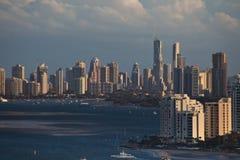 Vista aérea de la línea de la playa de Gold Coast Imágenes de archivo libres de regalías
