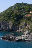 Vista aérea de la playa en Toscana Fotografía de archivo
