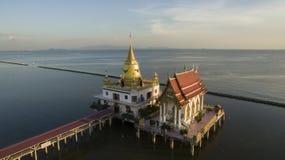 Vista aérea de la señal importante y del viaje del templo del hongtong del wat Fotos de archivo libres de regalías