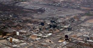 Vista aérea de la tira de Las Vegas Imágenes de archivo libres de regalías