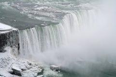 Vista aérea de las caídas Fotografía de archivo libre de regalías