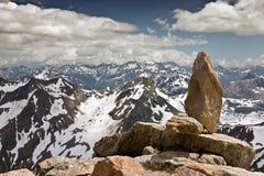 Vista aérea de las montan@as suizas en verano Foto de archivo
