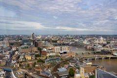 Vista aérea de Londres Imágenes de archivo libres de regalías