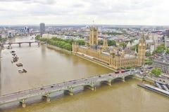 Vista aérea de Londres Imagem de Stock