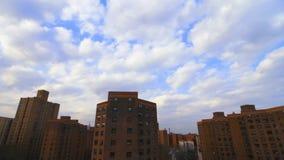 Vista aérea de los proyectos de Brooklyn Nueva York almacen de video