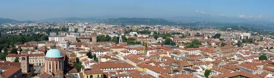 Vista aérea de los tejados Foto de archivo