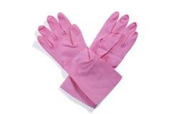 Vista aérea de luvas cor-de-rosa Imagem de Stock Royalty Free