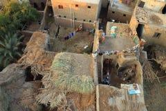 Vista aérea de Luxor en Egipto Imagen de archivo