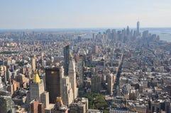 Vista aérea de Manhattan del Empire State Building en Nueva York Foto de archivo libre de regalías