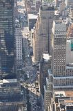 Vista aérea de Manhattan do Empire State Building em New York Fotografia de Stock Royalty Free