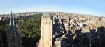 Vista aérea de Manhattan norteña a partir de la 59.a calle Fotografía de archivo libre de regalías