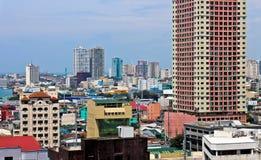 Vista aérea de Manila Foto de archivo