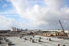 Vista aérea de marismas do porto, Florida foto de stock royalty free