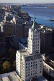 Vista aérea de Memphis Fotos de archivo libres de regalías
